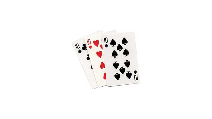 3 Card Monte (Blank) by...