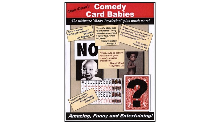 Comedy Card Babies (Small)...