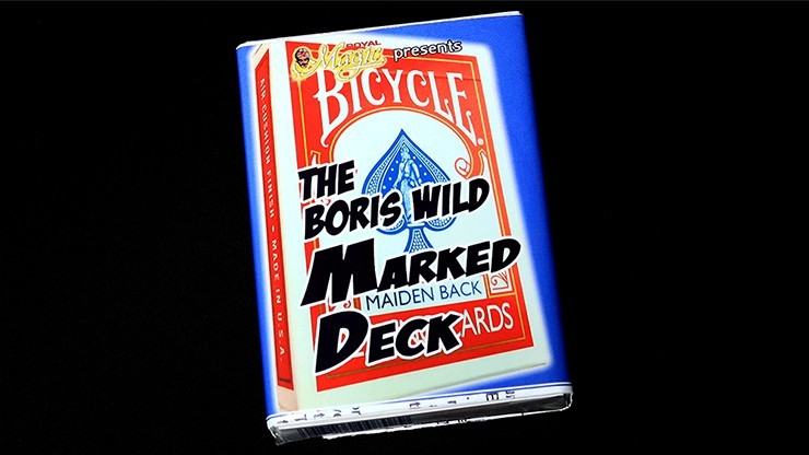 The Boris Wild Marked Deck (RED) by Boris Wild - Trick
