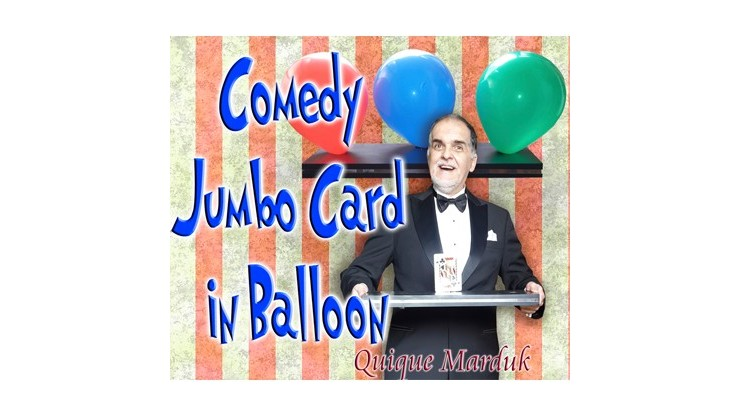 Comedy Card In Balloon by...