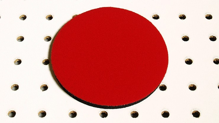 Round Mini Mat (Red) by...