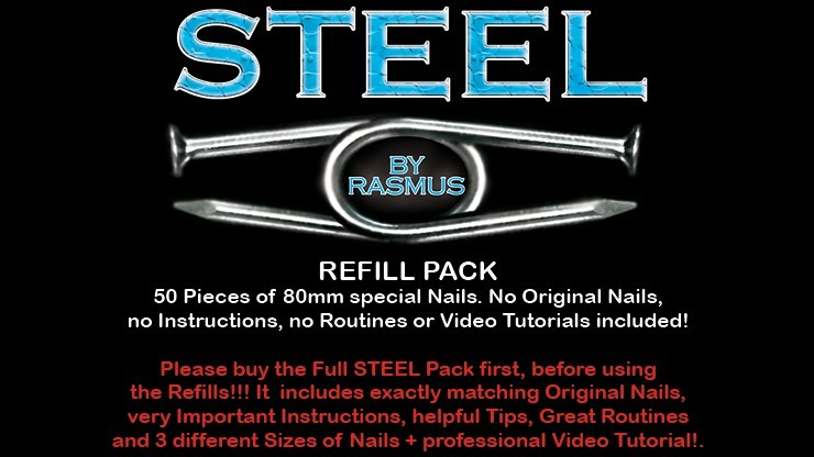 STEEL Refill Nails 50 ct....