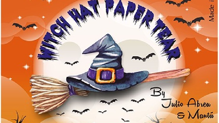Witch Hat Paper Tear (12...