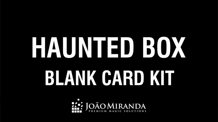 Blank Card Kit for Haunted...