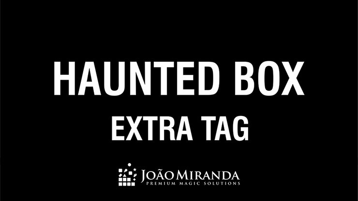 Extra Tag for Haunted Box...