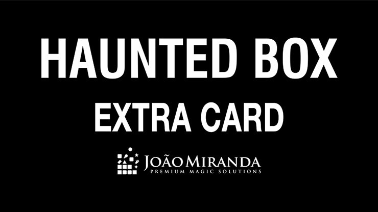 Haunted Box Extra Gimmicked...