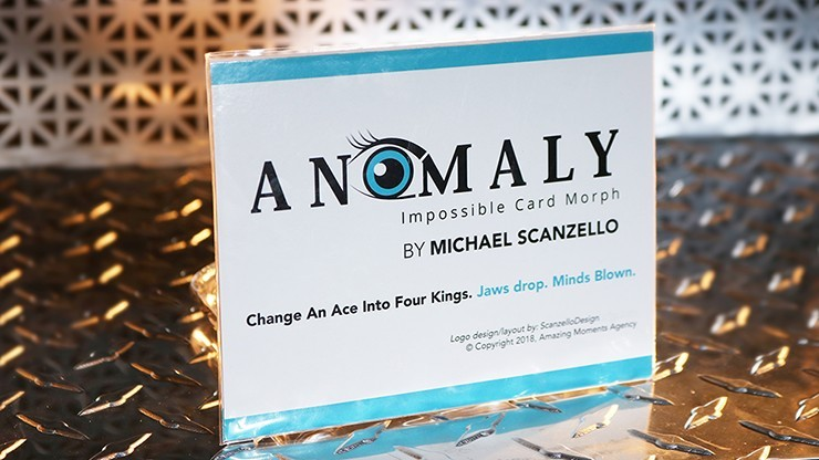 Anomaly (Gimmicks and Online Instruction) by Michael Scanzello - Trick
