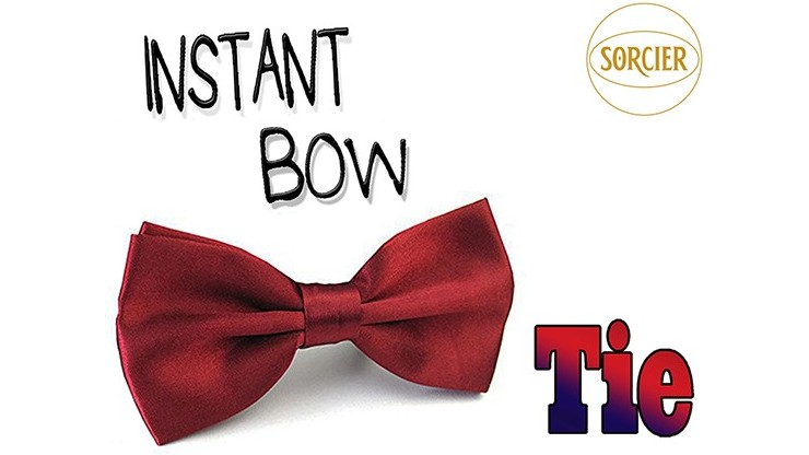 Instant Bow Tie (Red) by...