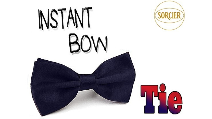 Instant Bow Tie (Blue) by...