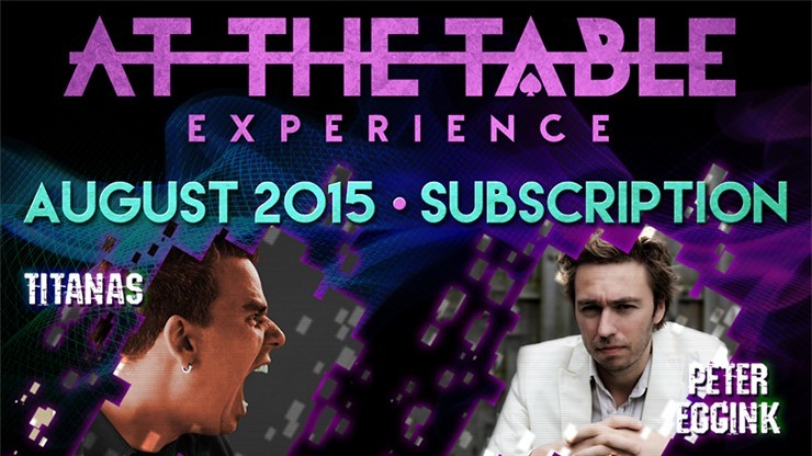 At The Table August 2015...