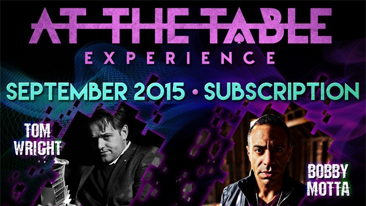 At The Table September 2015...