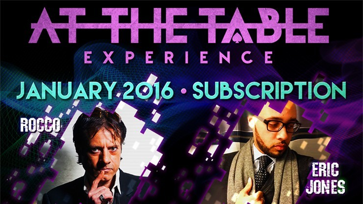 At The Table January 2016...