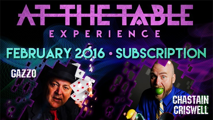 At The Table February 2016...