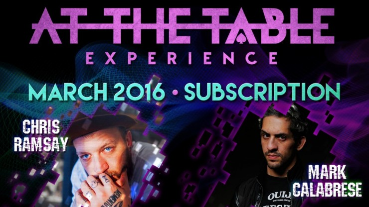 At The Table March 2016...