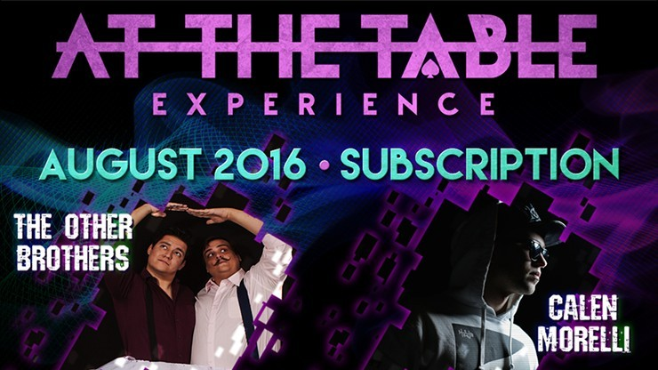 At The Table August 2016...