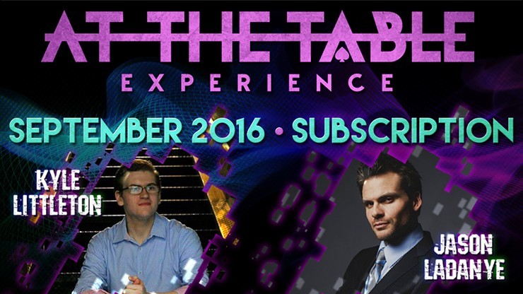 At The Table September 2016...