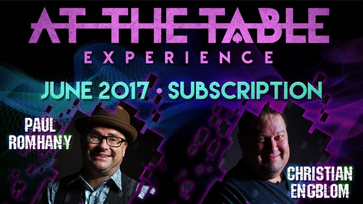 At The Table June 2017...