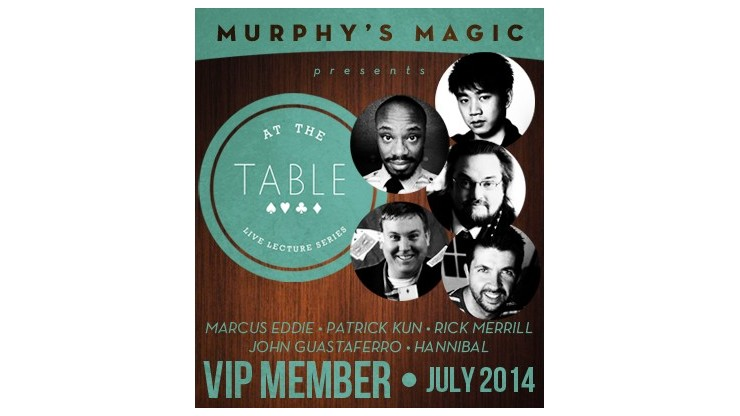 At The Table VIP Member...