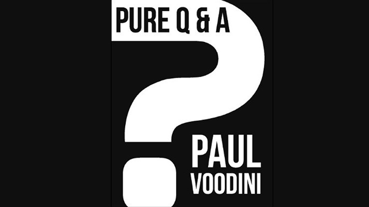 Pure Q & A by Paul Voodini...