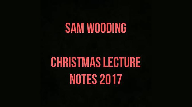 2017 Christmas Lecture...