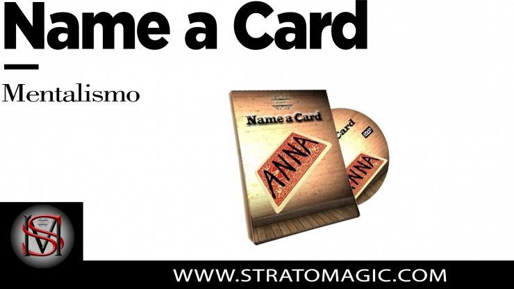Name a Card ANNA ( DVD IN...