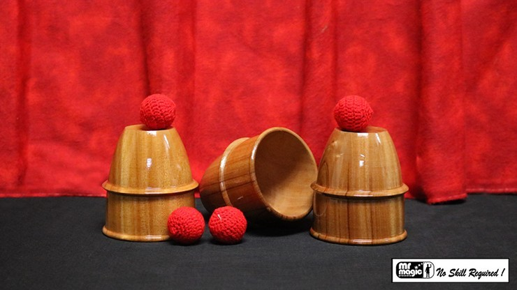 Cups and Balls (Wooden) by...