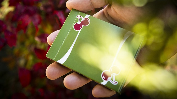 Cherry Casino Fremonts Green Playing Cards by Pure Imagination Projects