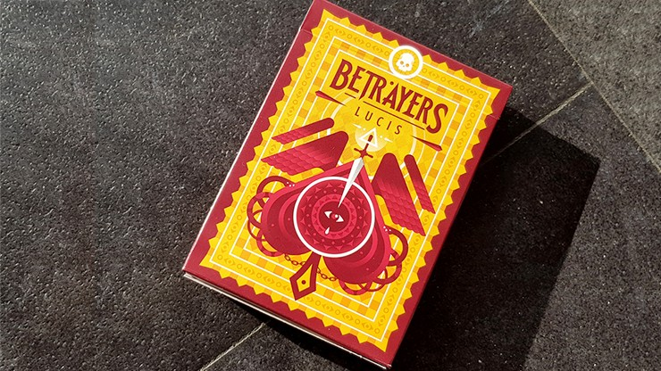 Betrayers Lucis Playing Cards by Giovanni Meroni