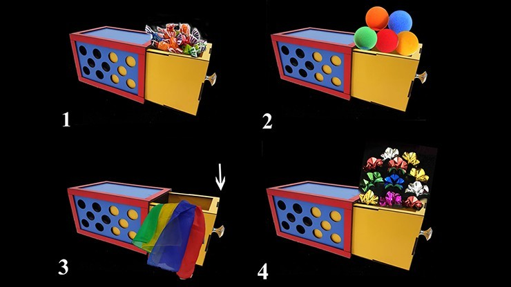 DRAWER BOX WITH HOLES (3X)...