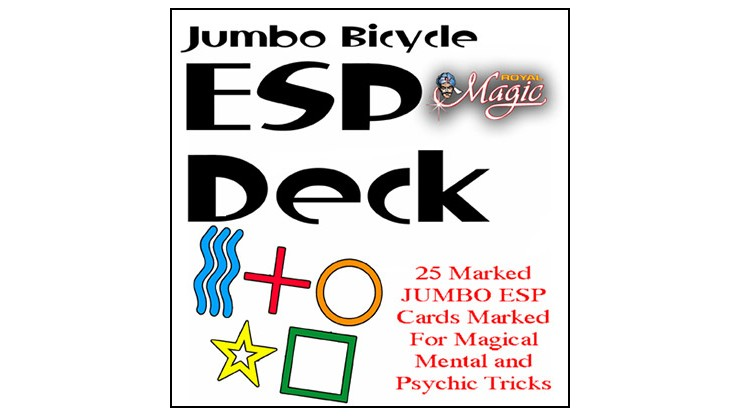 Jumbo Marked ESP Decks...