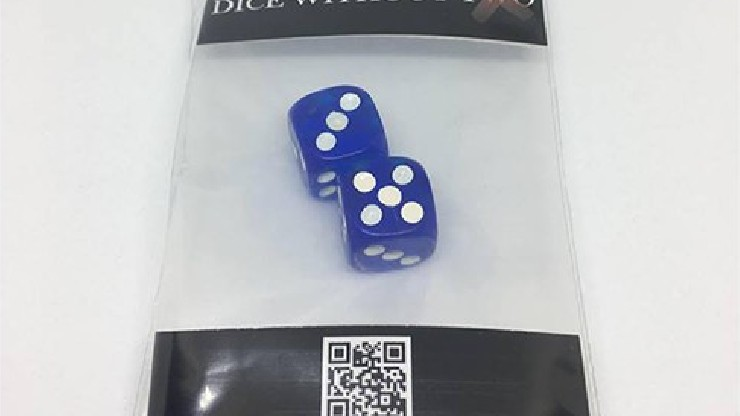 Dice Without Two CLEAR BLUE...