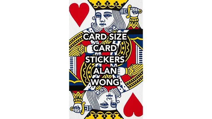 POKER Size Card Stickers by...