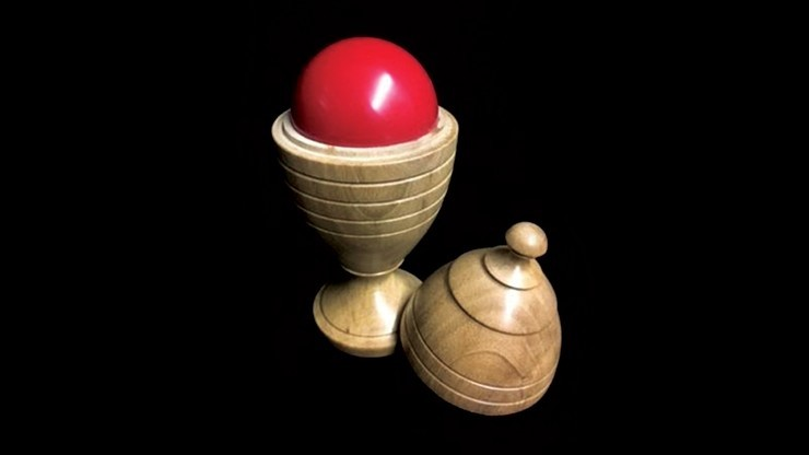 Deluxe Wooden Ball Vase by...