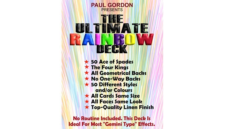 The Ultimate Rainbow Deck...