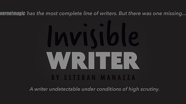 Invisible Writer (Grease...