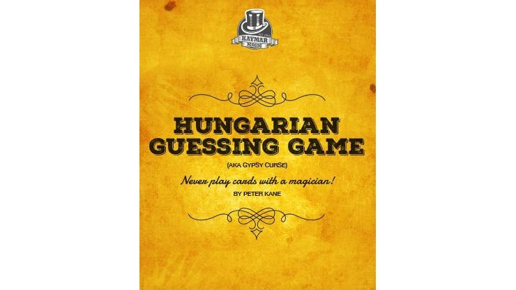 Hungarian Guessing Game AKA...